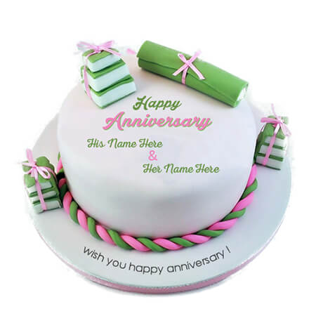 Anniversary Memorable Cake