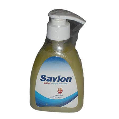 Savlon Active Handwash Bottle Powerful Germicide