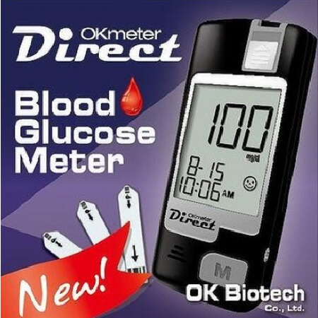 Direct Blood Glucose Meter