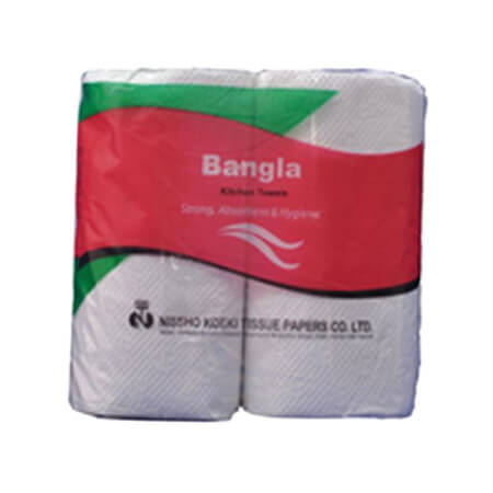 bangla  kitchen paper 2 ply towel 9 inch