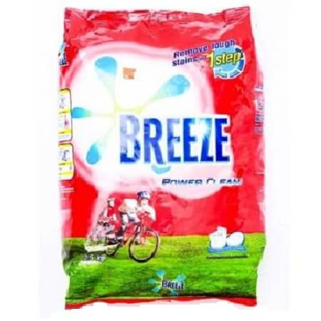 Breeze Power clean Detergent powder