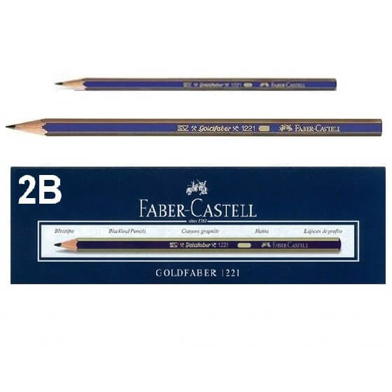 Faber Castell 2B pencil