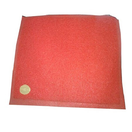 Plastic Floor Trapper Mat Red 23x15 China 1 pcs