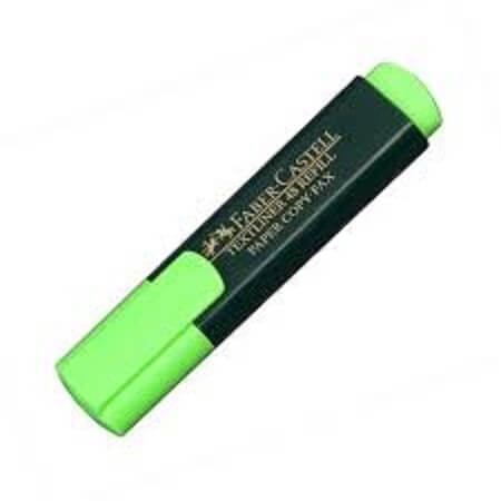 Faber Castell Highlighter Marker Green