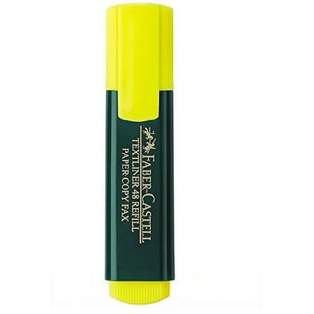 Faber Castell Highlighter Marker Lemon