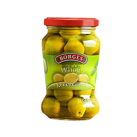 Borges Green Whole Olives