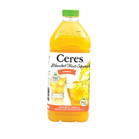 Ceres Fruit Squash Blend Mango  Juice 175 ltr