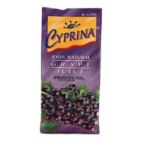 Cyprina Red Grape Juice