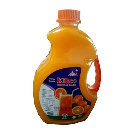 Kikco Halal Orange Fruit Juice 1  ltr