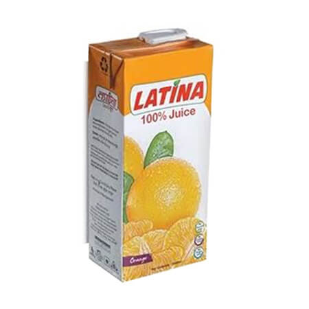Latina 100 Juice Orange