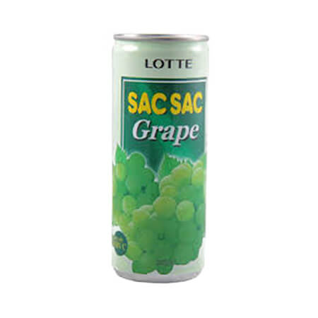 Lotte Sac Sac Grape Drink