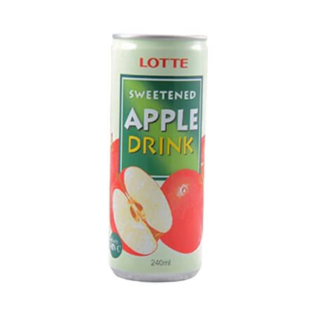 Lotte Sweetened Apple Drink