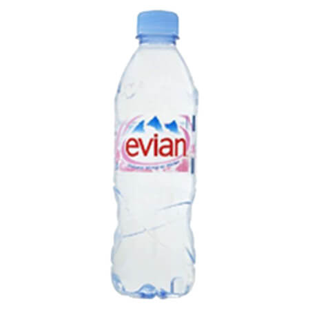 Evian Natural Mineral Water France