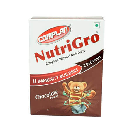 Complan Nutrigro Chocolate Flavour  (2-6 years)
