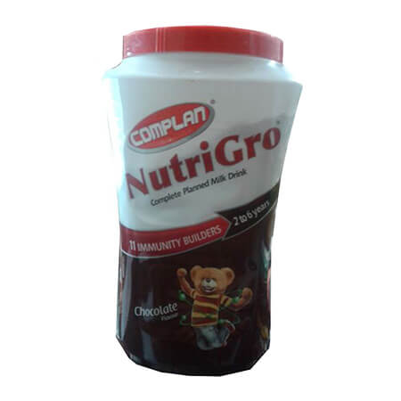 Complan Nutrigro Chocolate Flavour  Far (2-6 years)