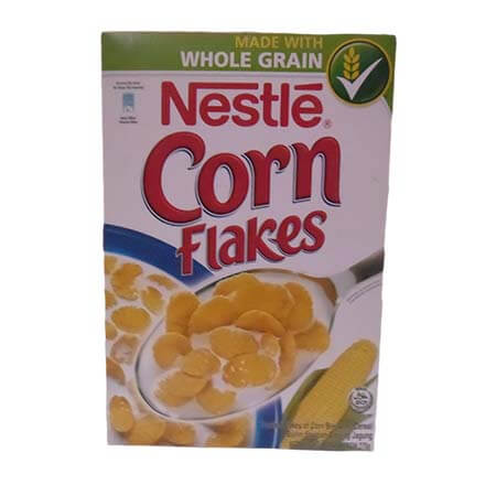 Nestlé Corn Flakes Breakfast Cereal Box