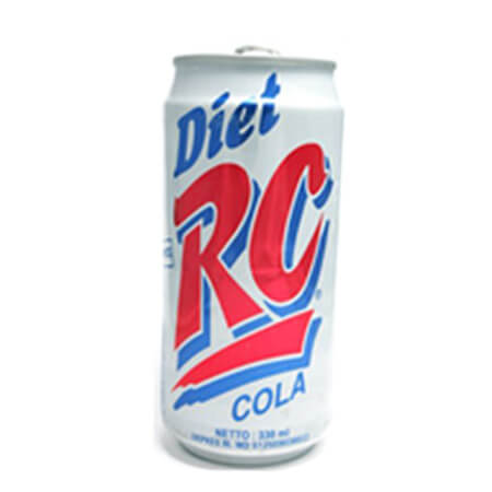 Rc Cola Diet Can