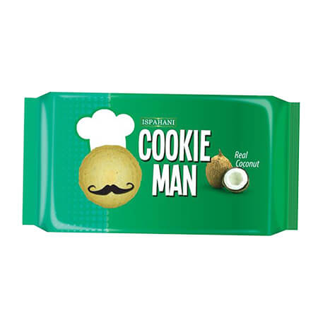 Ispahani Cookie Man (Coconut)  Biscuits