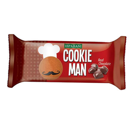 Ispahani Cookie Man Real Chocolate  Biscuit