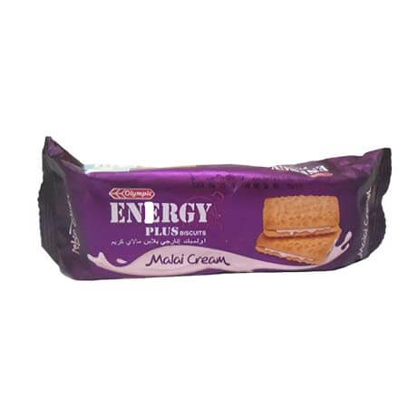 Olympic Malai Cream Energy Plus Biscuits