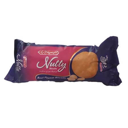Olympic Nutty Real Peanut Biscuits