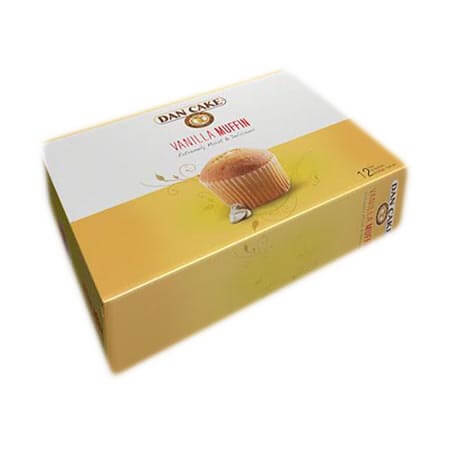 Dan Cake Vanilla Muffin 12 packs