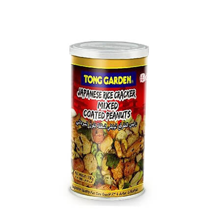 Tong Garden Japanese Rice Cracker Mixed Coated Peanuts