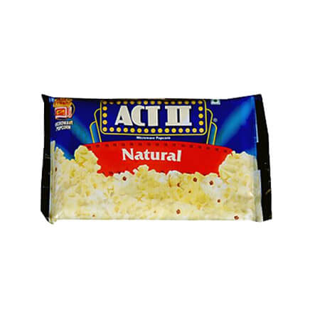 ACT II Natural Popcorn