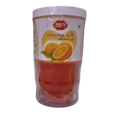 Pran Orange Jelly Plastic Jar