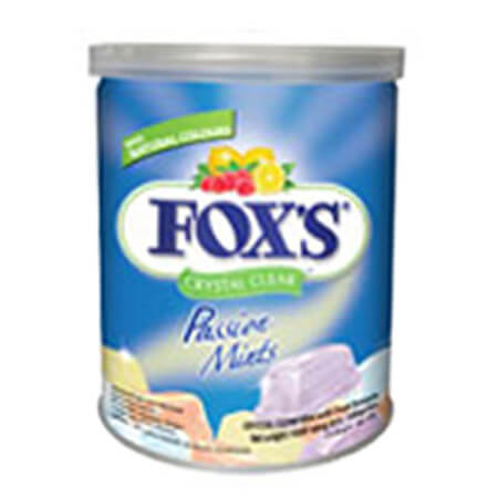 Fox Passion Mints Candy Tin
