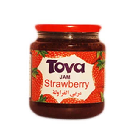 Tova Jam Strawberry 435 gm