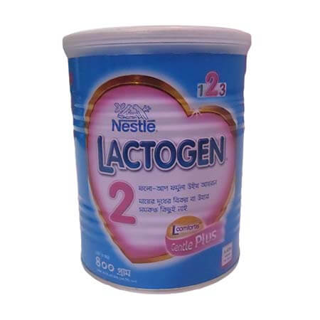 Nestlé LACTOGEN 2 Follow up Formula With Iron (6 months+) TIN