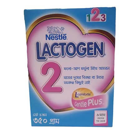Nestlé LACTOGEN 2 Infant Formula with Iron Follow Up Formula (6th month +) BIB