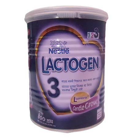 Nestlé LACTOGEN 3 Follow Up Formula (12 Month+) TIN