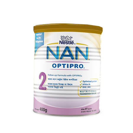 Nestlé NAN 2 Follow Up Formula With Optipro TIN