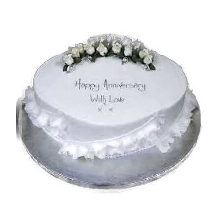 With Love Anniversary Cake