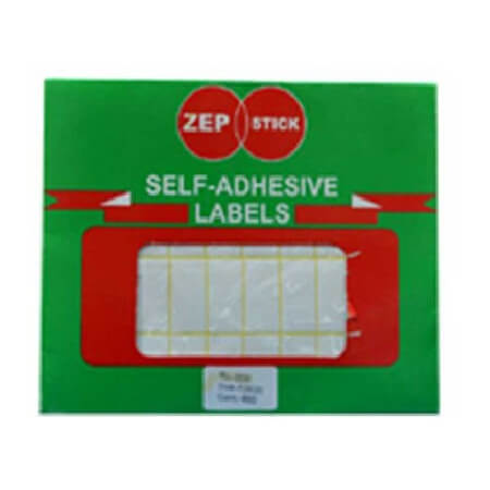 Zep Stick(25X38) Self Adhesive Labels