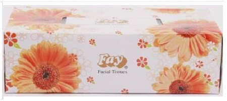 Fay Facial Tissue Small (90 X 2) Ply