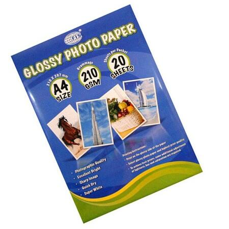 Photo Paper A4 Size 210 gsm